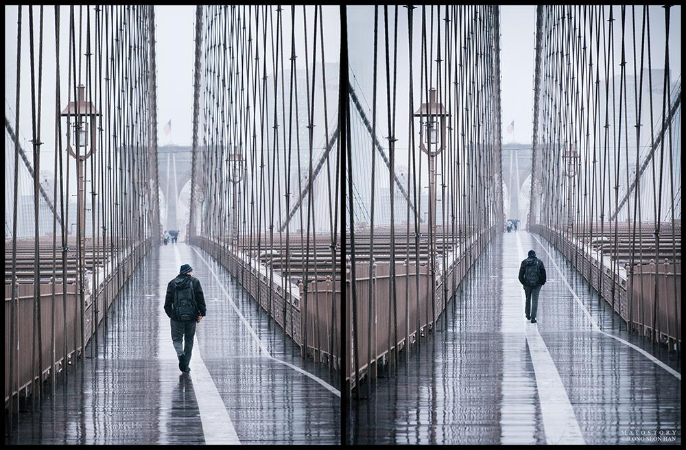 Walking Towards