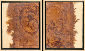Roots of Diffusion diptych