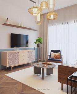 Model house concept