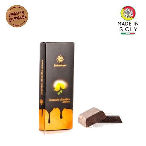 Cioccolato di Modica IGP limone 100 gr Sicilia Tentazioni