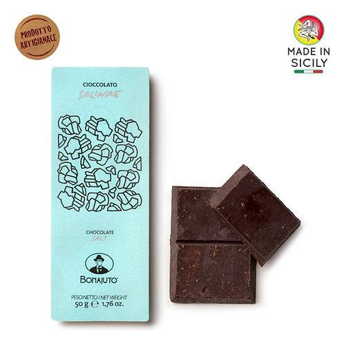 Cioccolato Sale 50gr Bonajuto
