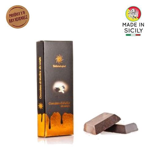 Cioccolato di Modica IGP vaniglia 100 gr Sicilia Tentazioni
