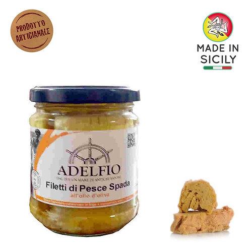 Filetti di pesce spada 200gr Adelfio