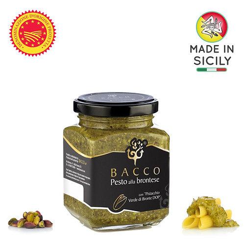 Pesto di pistacchio verde di Bronte DOP 190 gr Bacco