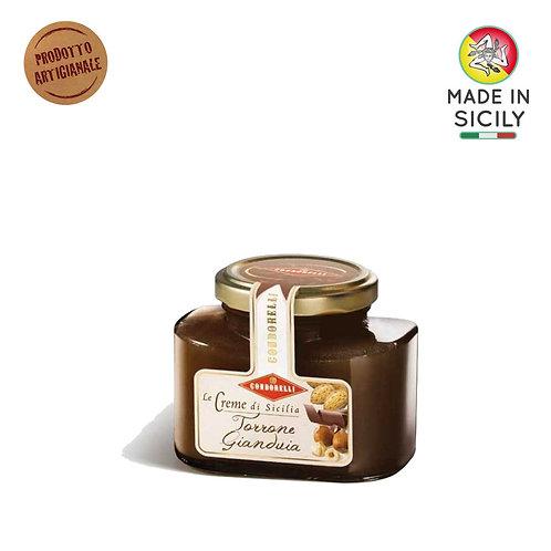 Crema di gianduia Sicilia 190 gr Condorelli