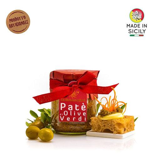 Patè di olive verdi 180 gr Sicilia Tentazioni