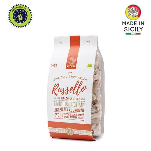 Pasta Rigatoni Russello Bio 500 gr Riggi