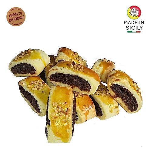 Tronchetti siciliani al cioccolato