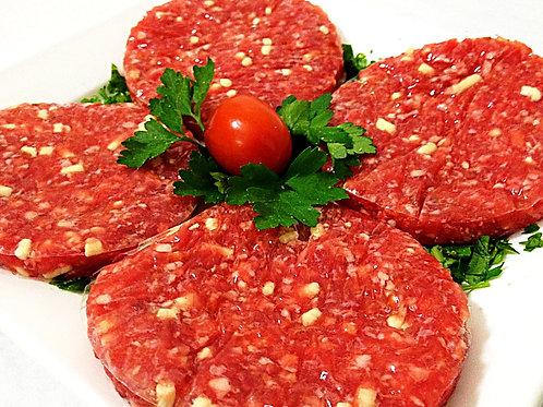 Hamburger formaggio e pomodoro