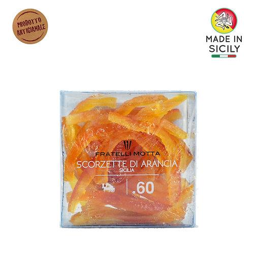 Scorzette arancia Sicilia 165 gr Fratelli Sicilia