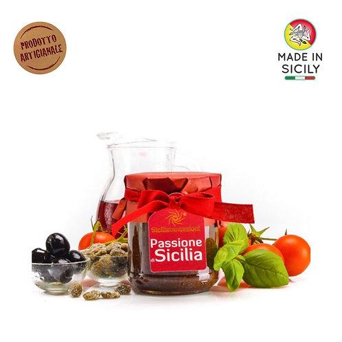 """Pesto """"Passione di Sicilia"""" 180 gr Sicilia Tentazioni"""