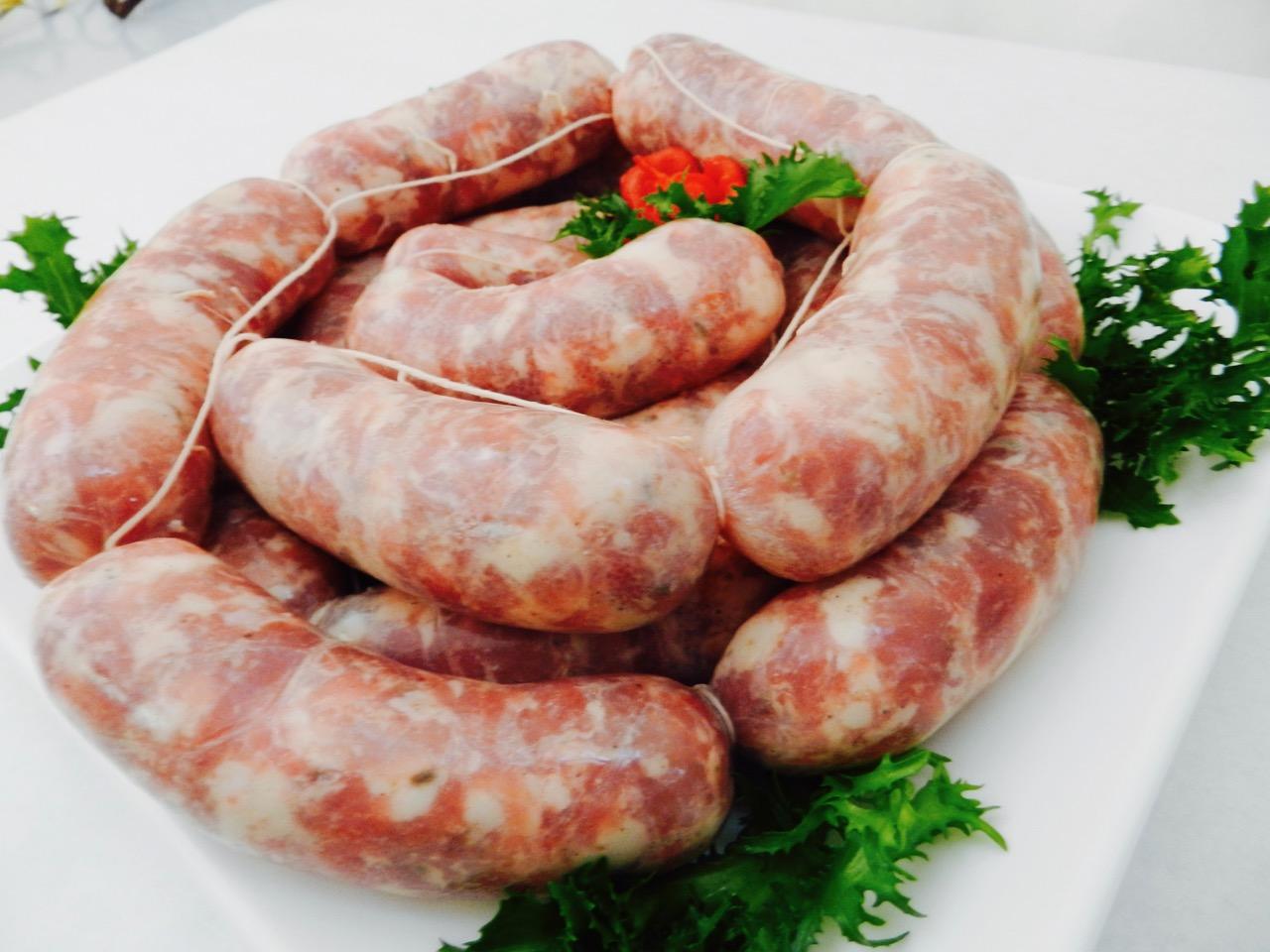 Salsiccia tradizionale grossa