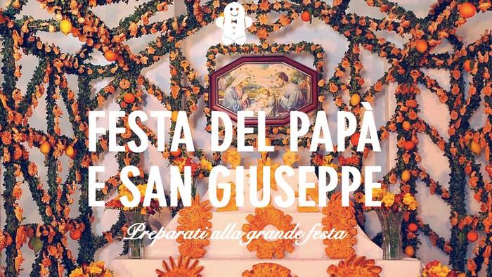 La festa di S. Giuseppe in Sicilia