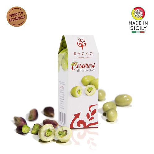 Dragèes al pistacchio 70gr Bacco