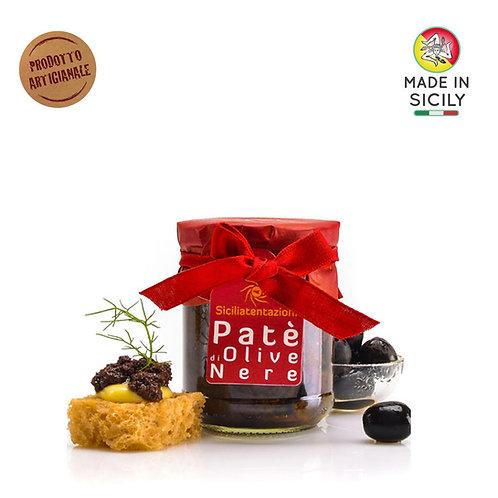 Patè di olive nere 180 gr Sicilia Tentazioni