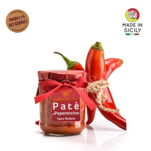 Patè di peperoncino 180 gr Sicilia Tentazioni