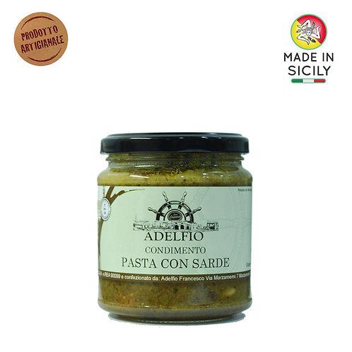 Condimento pasta con sarde 300 gr Adelfio