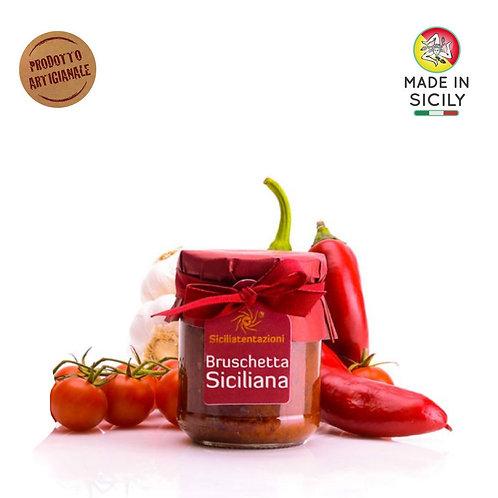 Bruschetta siciliana 180 gr Sicilia Tentazioni