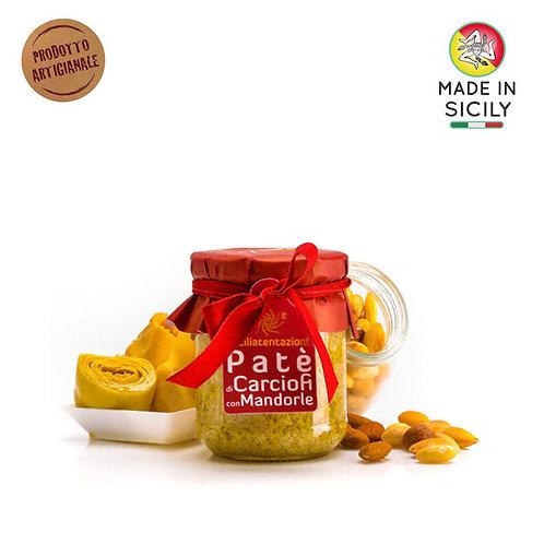 Patè di carciofi e mandorle 180 gr Sicilia Tentazioni