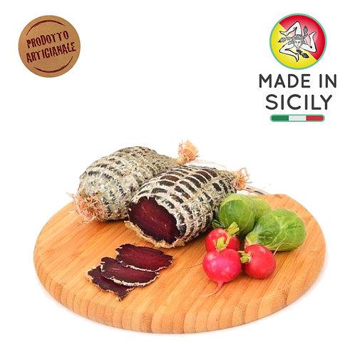 Bresaola di asino siciliano