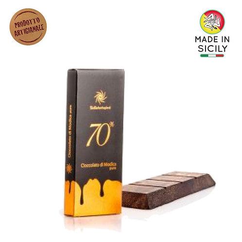 Cioccolato di Modica IGP 70 % 100 gr Sicilia Tentazioni