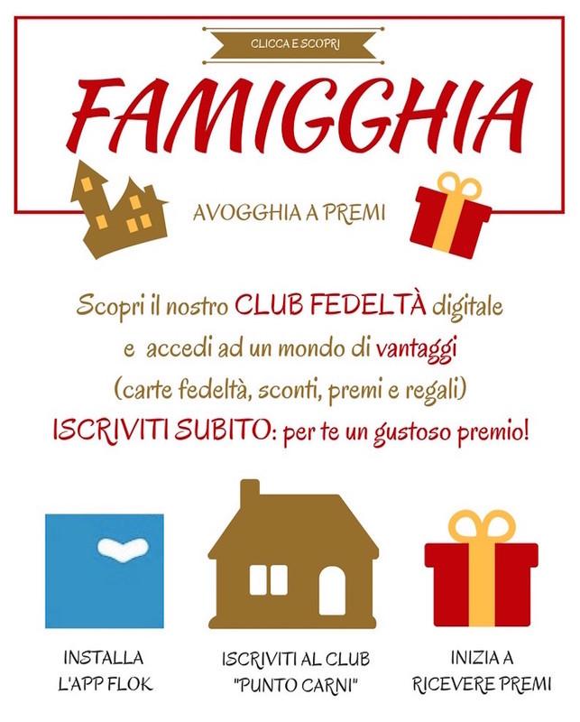 Club Famigghia: la fedeltà premia!