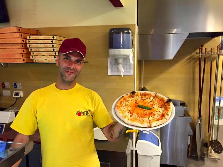 """Il pizzaiolo e la """"Pizza salute"""""""