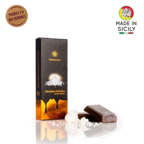 Cioccolato di Modica IGP sale 100 gr Sicilia Tentazioni