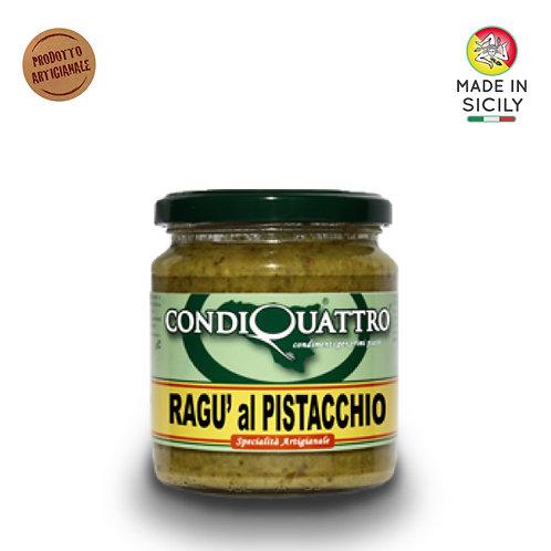 Ragù al pistacchio 200 gr Condiquattro