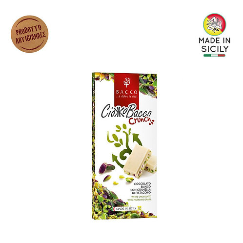 Cioccolato Ciokkobacco Crunch 100 gr Bacco