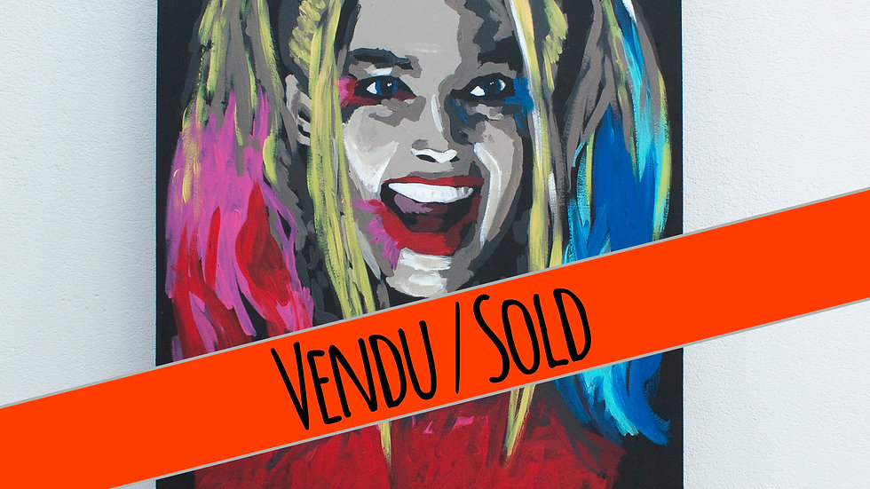 Harley Quinn Live Painting