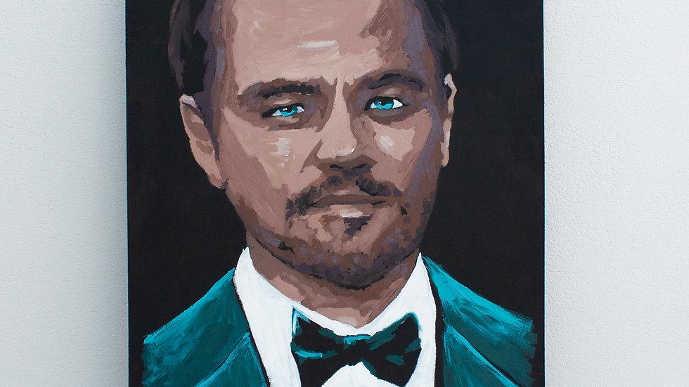 Leonardo Di Caprio  Painting