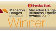 Macedon Ranges Business Excellence Awards 2019 - Winner