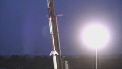 Rocket with VT student experiments launches from Wallops
