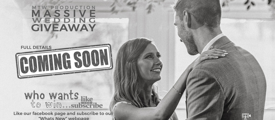 Massive Wedding Giveaway - Coming Soon