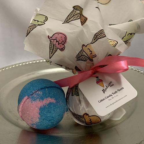 Cotton Candy Bath Bomb (w/toy surprise!)