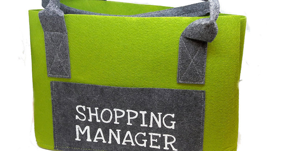 "Shoppingtasche ""Shopping Manager"""