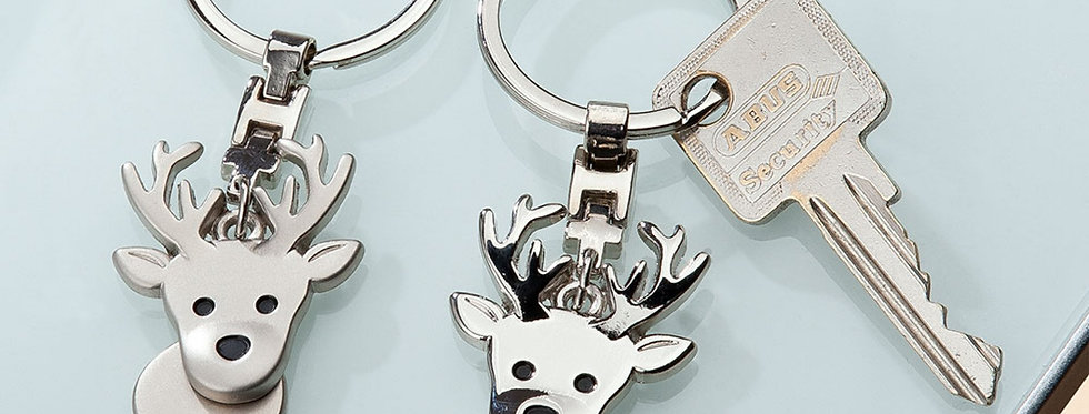 Schlüsselanhänger Hirsch