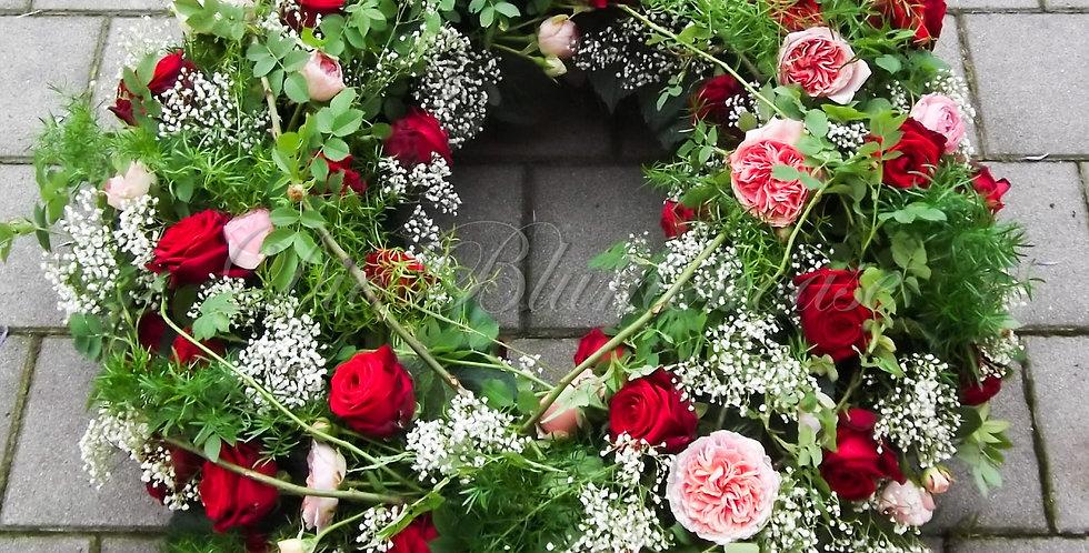 Trauerkranz roses
