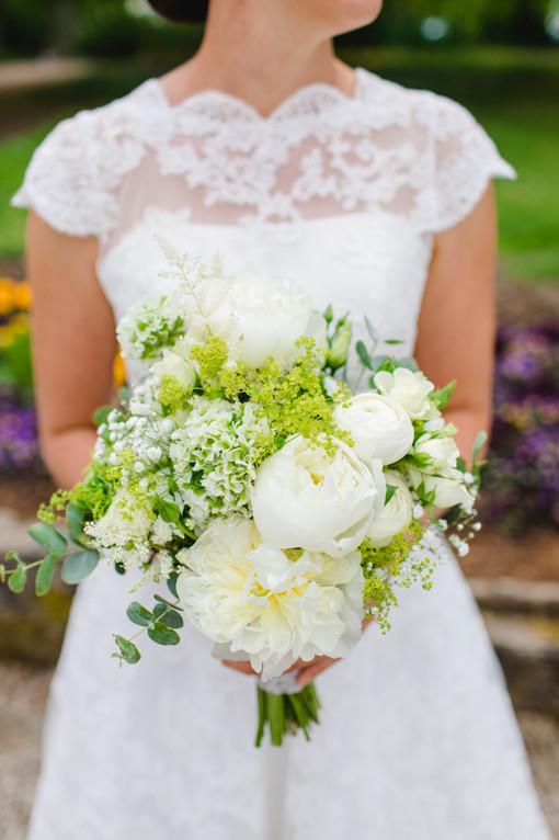 frühsommerlicher Brautstrauß