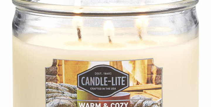 Duftkerze Warm & cozy