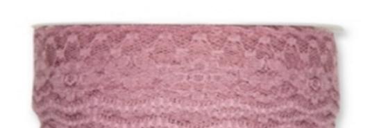 Tüll Spitze Var.2 rosa