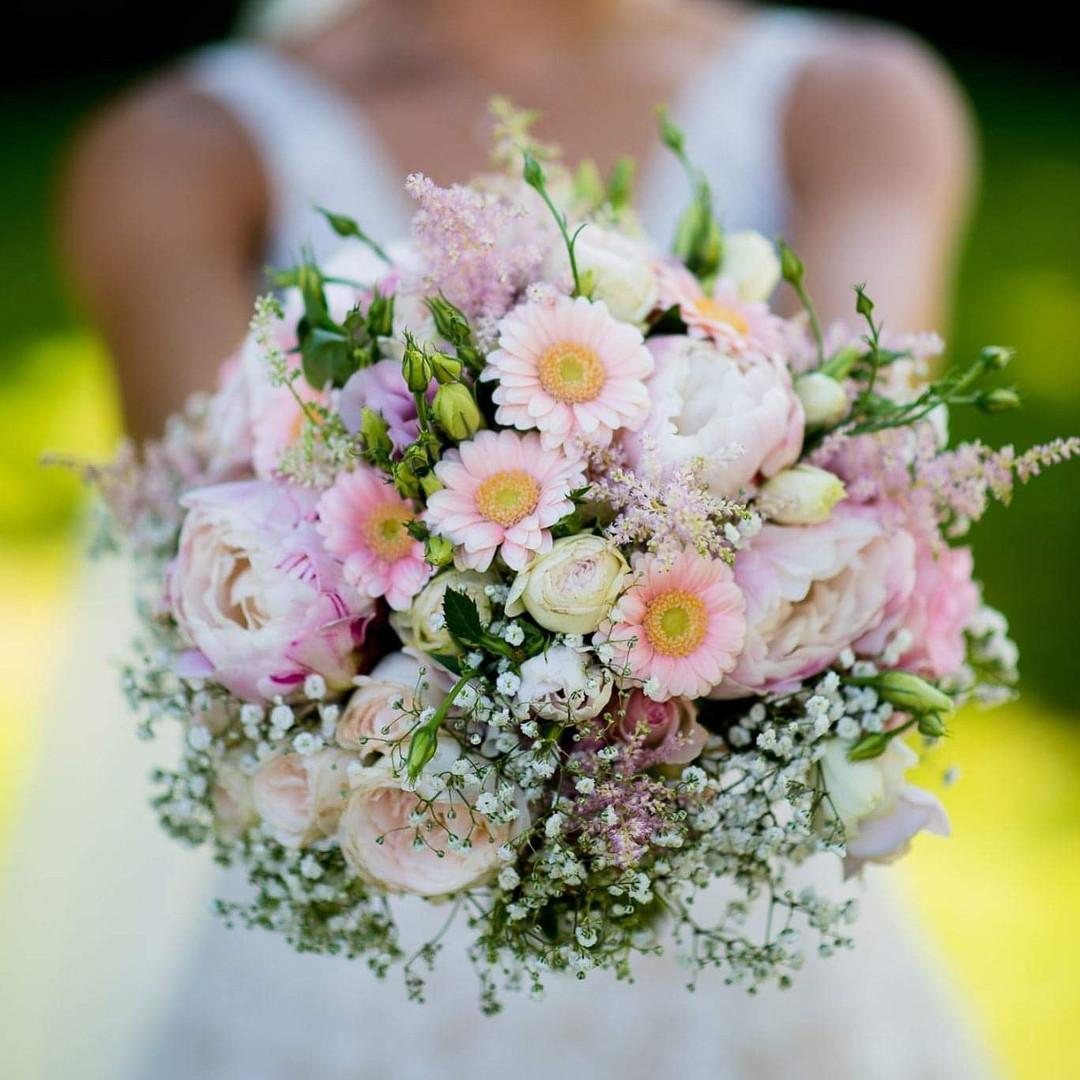 Rosa Blütentraum für die Hochzeit