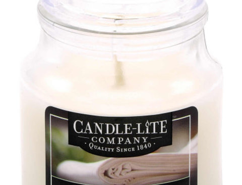Duftkerze Soft Cotton Sheets - 85g
