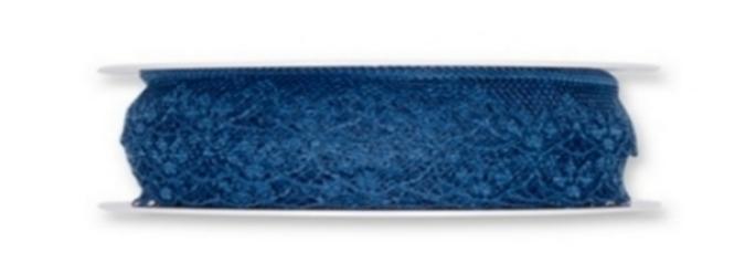 Tüll Spitze Var.1 blau