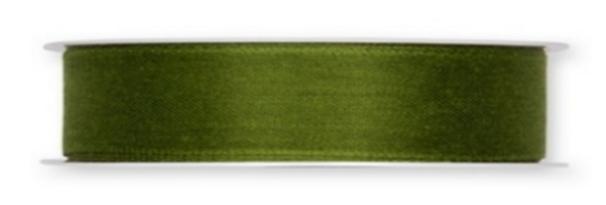 Band feines Leinen dunkel grün