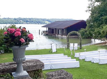 Claire & Christoph, La Villa am Starnberger See