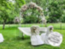 Freie Trauung, Traubogen, Blütenbogen, Trauungszeremonie, Hochzeitsbogen