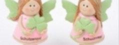 Schutzengel rosa/grün