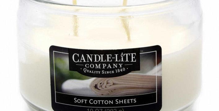 Duftkerze Soft Cotton Sheets - 283g